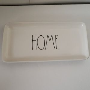 "Rae Dunn - HOME  Tray 14"" x 7"""